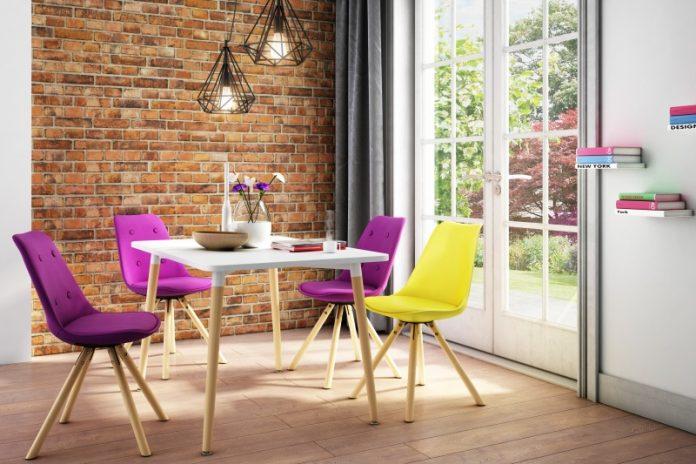 Krzesła w stylu skandynawskim