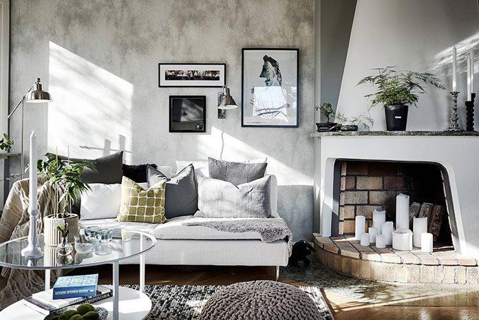 Sofa skandynawska