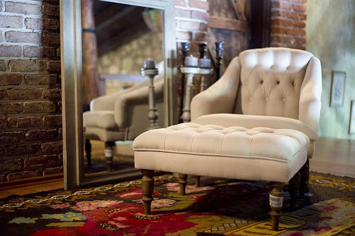 Fotele z podnóżkiem do domu
